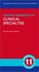 Oxford Handbook of Clinical Specialties 11 edition